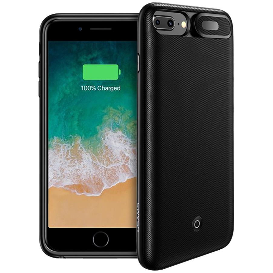 promo code bb492 449ed Usams 4200mAh MFi Battery Case - Apple iPhone 8 Plus / 7 Plus